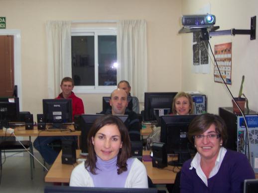 Grup d'alumnes d'informàtica 1